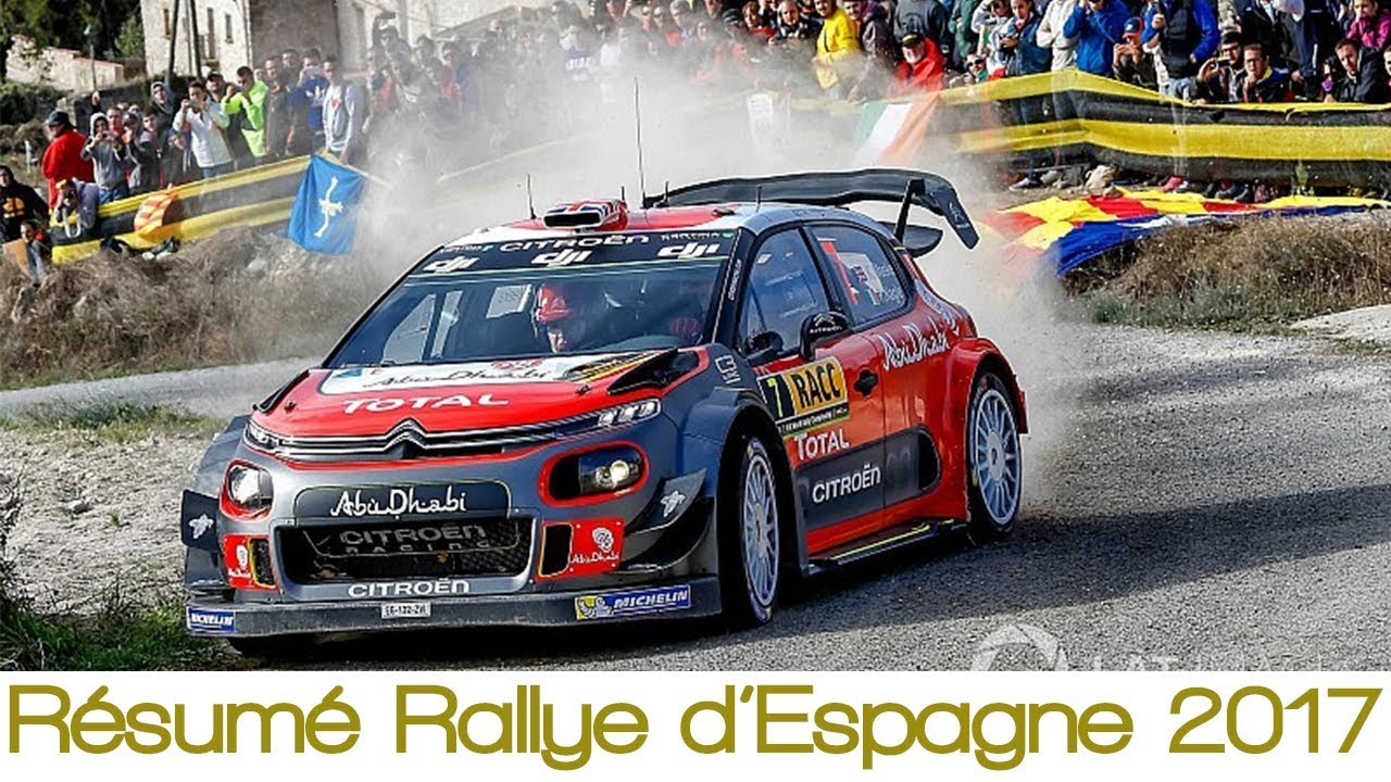 Rallye D Espagne : r sum rallye d 39 espagne 2017 rallye wrc youtube ~ Medecine-chirurgie-esthetiques.com Avis de Voitures