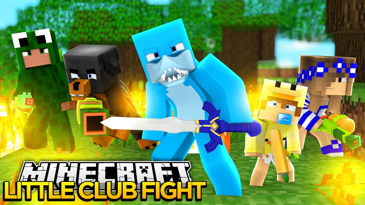 Minecraft little club hunger games facecam w donut - The little club ...