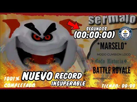 MARCELO SPEED RUN GAMEPLAY COMPLETO NUEVO RÉCORD HISTORIA MARSELO.EXE MEME CANCIÓN VÍDEO ORIGINAL