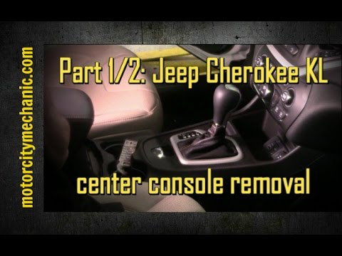 Part 1/2: 2014-2015 Jeep Cherokee Center Console