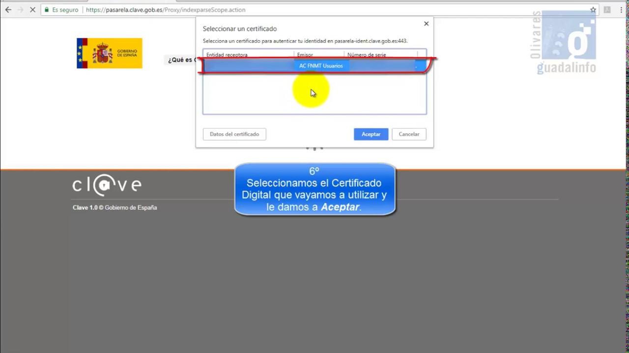Certificado Digital Obtener El Certificado De Prestaciones Del