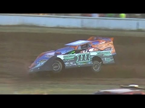 ULMS Super Late Model Heat Two | McKean County Raceway | 7-14-16