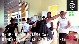 Dropping Some Jamaican Dancehall Reggae In Montego Bay
