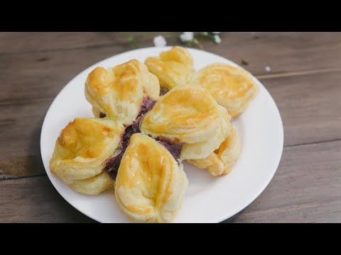 Ube Puff Pastry- Purple Sweet Potato recipe
