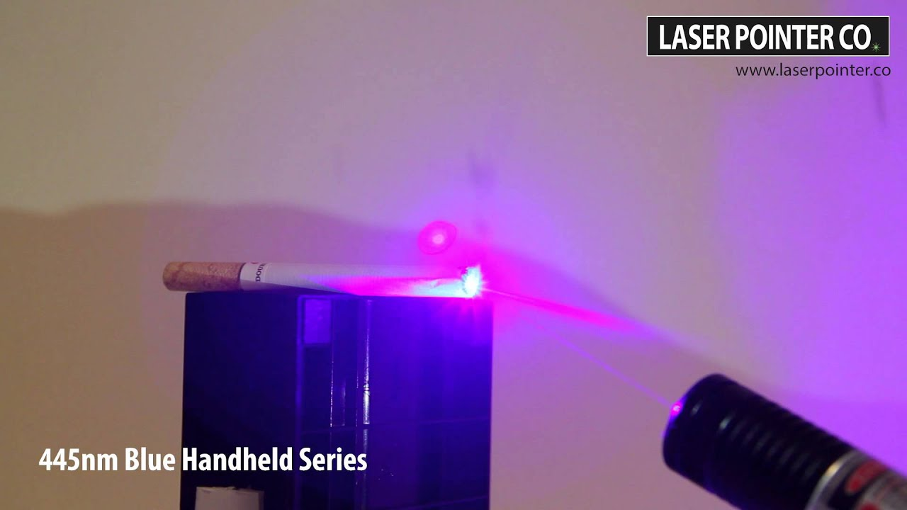 500mw 445nm blue laser pointer vs cigarette sky technologies