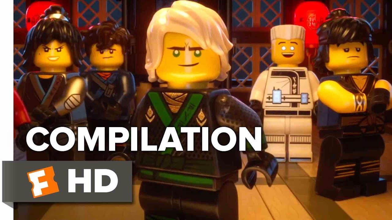 The Lego Ninjago Movie All Trailers Clips 2017 Movieclips Trailer Youtube