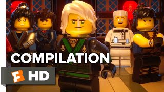 The Lego Ninjago Movie ALL Trailers + Clips (2017) | Movieclips Trailer