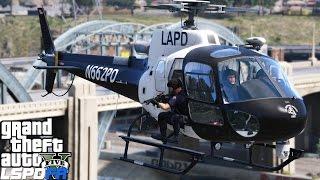 Video GTA 5 LSPDFR Police Mod 340 | LAPD SWAT In Helicopter Eliminates Hostiles Inside The Police Station download MP3, 3GP, MP4, WEBM, AVI, FLV Mei 2018