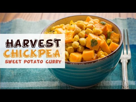 Chickpeas And Sweet Potato Curry