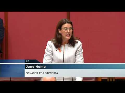 Senator Hume - Question on Penalty Rates (21.03.2017)