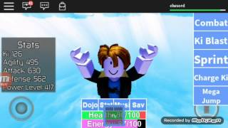 ROBLOX (Dragon Ball Rage) EP 1 playing with CauanGames BR
