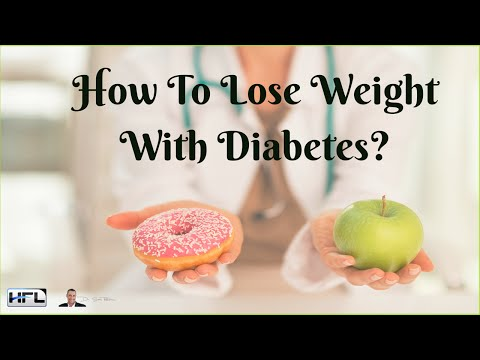 How To Lose Weight With Diabetes? - by Dr Sam Robbins