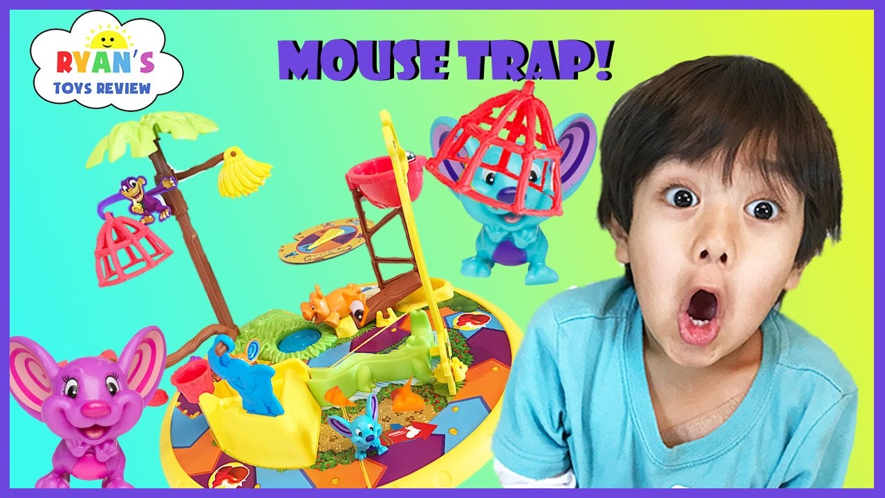 Family fun game for kids mouse trap egg surprise toys challenge ryan family fun game for kids mouse trap egg surprise toys challenge ryan toysreview youtube solutioingenieria Gallery