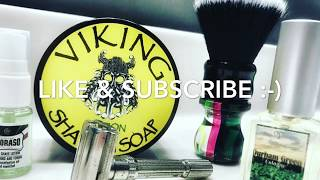 "Review: Viking Soaps ""Citron"" Shaving Soap"