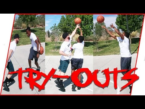 Trent's REDEMPTION Basketball Tryouts! (Unbelievable Ending)