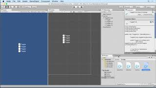 Unity 5: UI - 9.2 Working with toggle groups in scripts