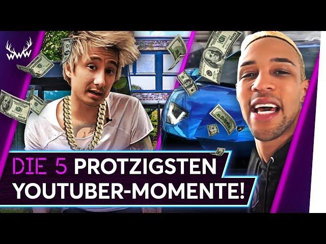 Die 5 PROTZIGSTEN YouTuber-Momente! | TOP 5