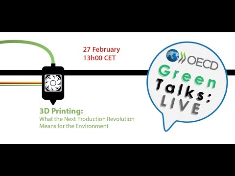 3D Printing - What the next production revolution means for the environment