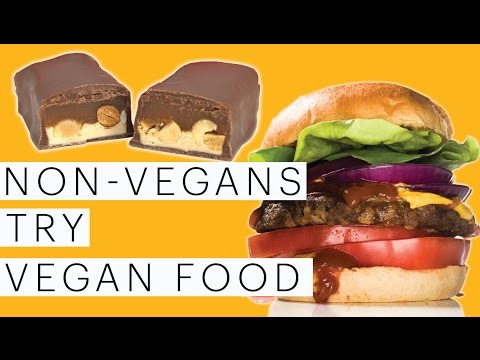 Vegan Taste Test | Vegan Chicken | Vegan Snickers | Vegan Sliders | Collab with Hellthy Junkfood