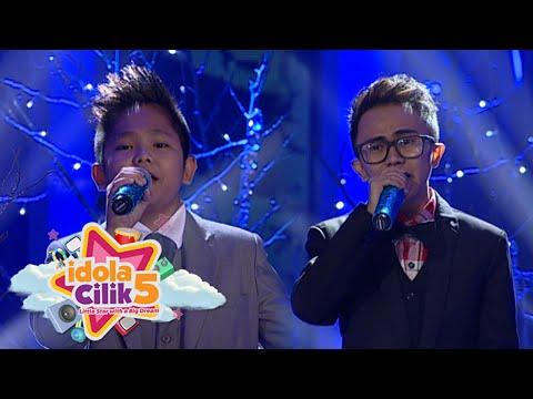 Keren Banget Duet Sion feat Kiki 'The Prayer' Bagai Air & Api [Idola Cilik 5] [13 Feb 2016]