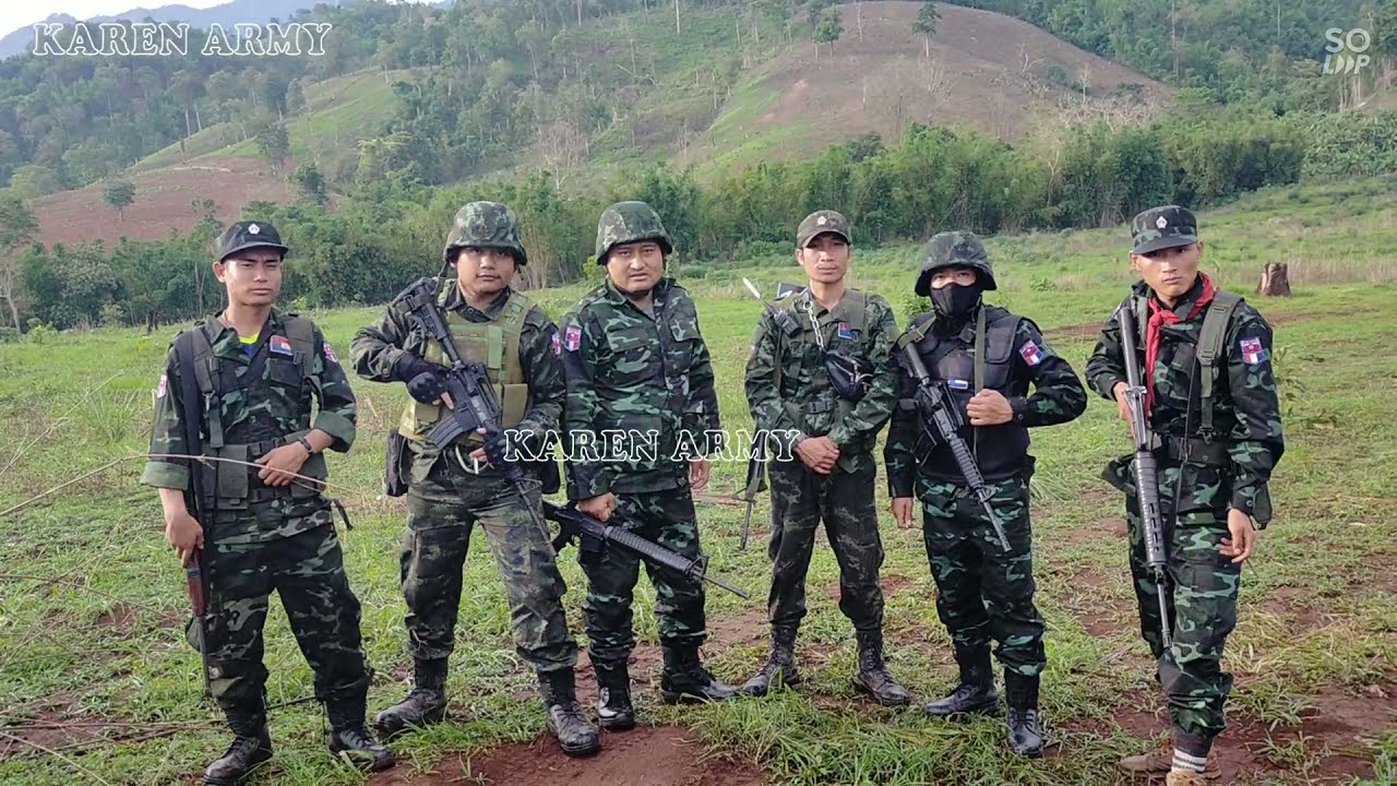 KAREN ARMY KNU KNDO Soldier - YouTube
