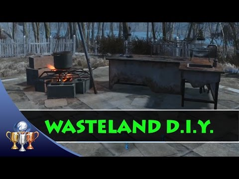 Fallouts 4 - Wasteland D.I.Y. Trophy & Achievement (Craft 100 Items)