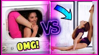 Who Is More Flexible? Sofie Dossi VS Anna Mcnulty EXTREME! Gymnastics Dance Challenge