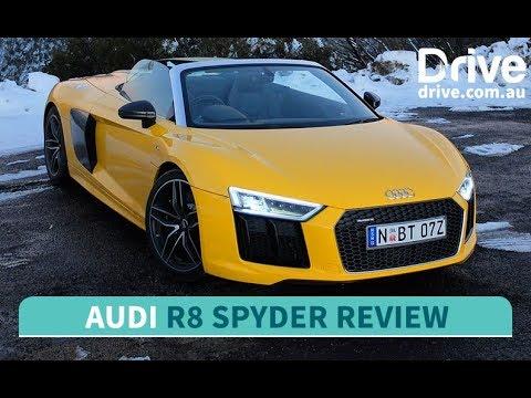 2017 Audi R8 Spyder Epic Road Test | Drive.com.au