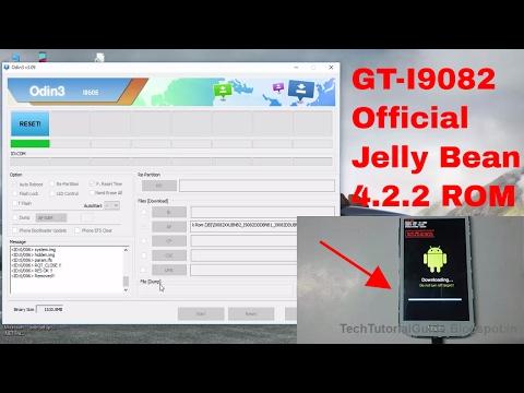 How To Install Stock Jelly Bean [4.2.2] ROM On Galaxy Grand I9082