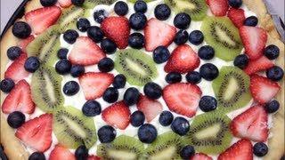 Fruit Salad Pizza - Todd's Kitchen