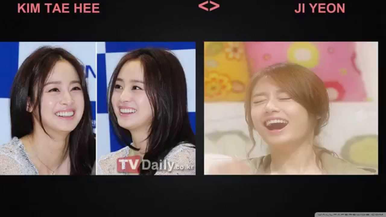 Kim Tae Hee Ji Yeon Different Betwe...