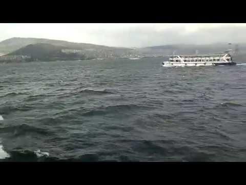 izmir körfez turu (izmir loch tour)in Turkey.