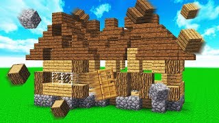 this minecraft house builds itself