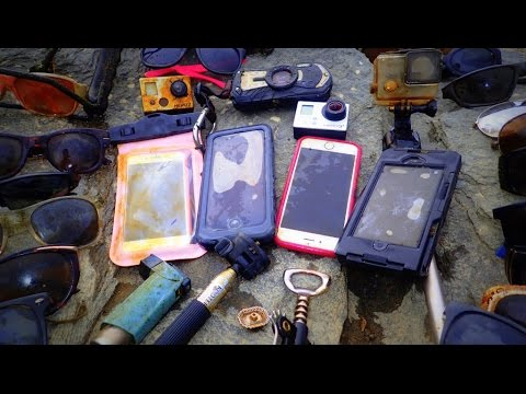 Thumbnail: River Treasure: 4 iPhones, 2 GoPro's, Pentax WG2 And MOAR!!