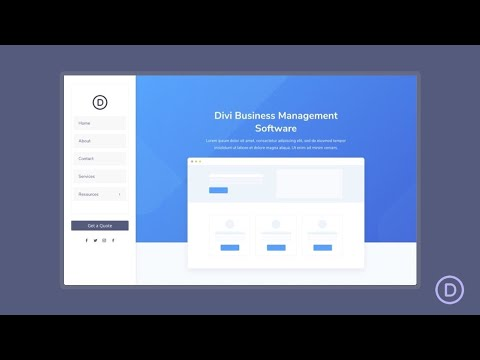 How to Create a Vertical Navigation Menu or Header for Your Divi Website