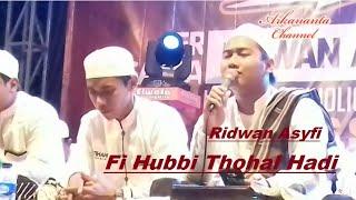 Gambar cover Fi Hubbi Thohal Hadi   Ridwan Asyfi Fatihah Indonesia live Nurus Siroj Bersholawat