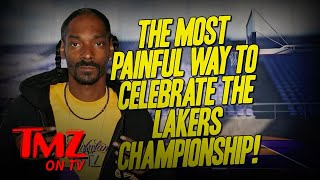 Snoop Dogg Gets New Lakers Championship Tattoo with Kobe Bryant Tribute | TMZ TV
