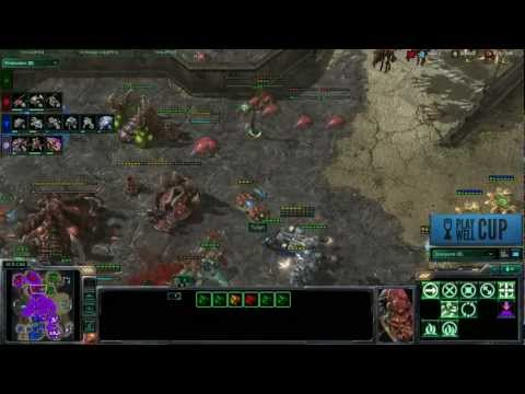 Starcraft 2 Play Well Cup Week 4: Firemint vs. CBS Interactive