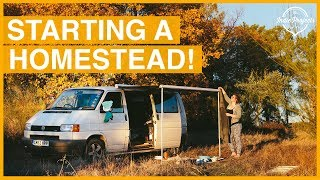 Homestead Tour - We Bought Land in Portugal!