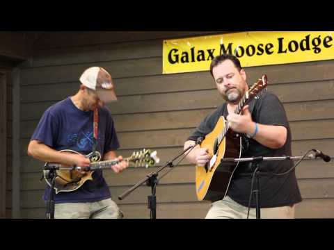 John Garris  in guitar contest at Galax 2015