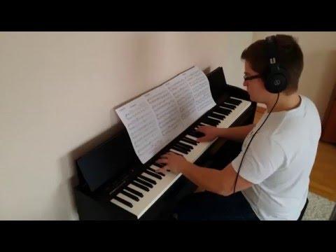Nuvole Bianche - Ludovico Einaudi (piano)