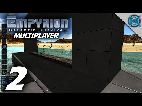 "Empyrion Galactic Survival Multiplayer Gameplay / Let's Play (S-1) -Ep. 2- ""Early Farm"""