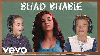 KIDS REACT TO BHAD BHABIE