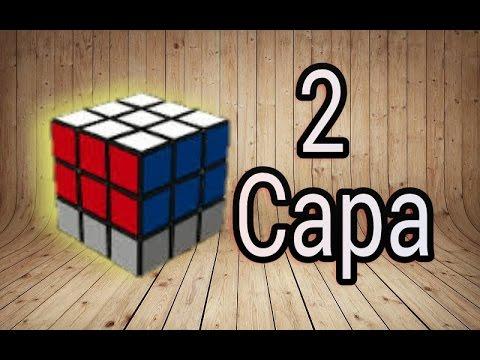 Como Armar La Segunda Capa En El Cubo De Rubik 3x3x3 Truco Revelado Youtube