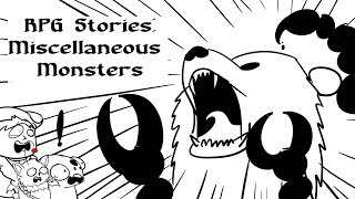 Tabletop RPG Stories: Miscellaneous Monsters and Bears of Sand