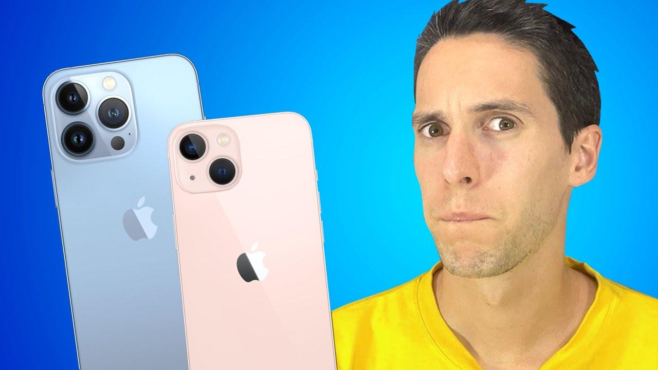 MI OPINIÓN del iPhone 13... TODO LO QUE DEBES SABER del iPhone 13 mini, iPhone 13 Pro Max en español