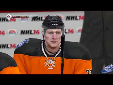 NHL 14 GM Connected | Philadelphia Flyers vs Ottawa Senators #1
