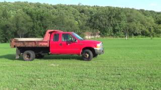 1999 F-350 EXTENDED CAB 4X4 7.3 DIESEL DUMP TRUCK