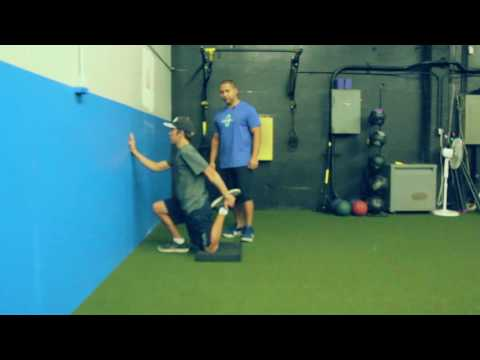 Golf Fitness: Wall-Hip mobility