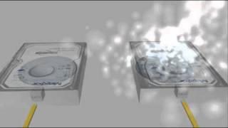 hard disk 3d animation